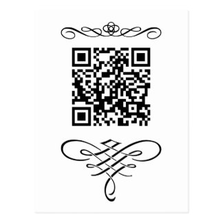 Flourish del código de QR Postal