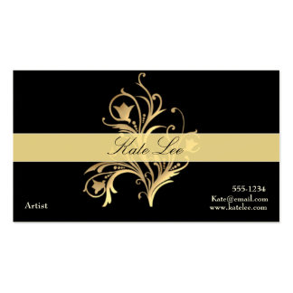 Flourish  Elegant Professional business card