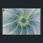 "Flourish Fantasy Modern Blue Green Fractal Flower iPad Pro 9.7&quot; Case<br><div class=""desc"">Fantasy Flower,  unusual and decorative.