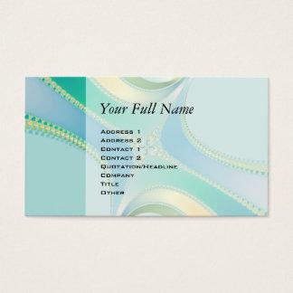 Flourish - Fractal Art Business Card
