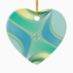 Flourish - Fractal Art Ceramic Ornament