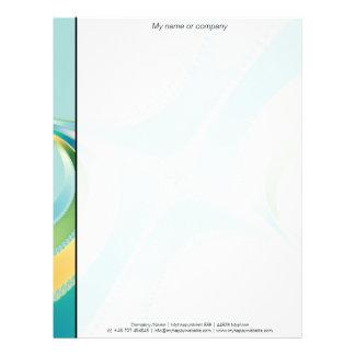 Flourish - Fractal Art Letterhead