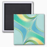 Flourish - Fractal Art Magnet