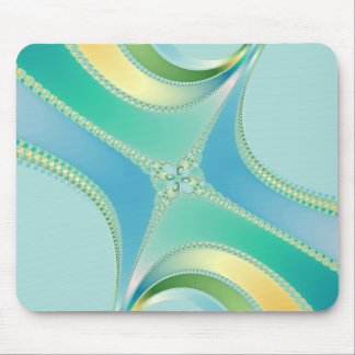Flourish - Fractal Art Mouse Pad