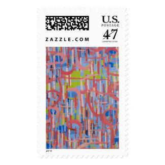 Flourish Postage Stamp