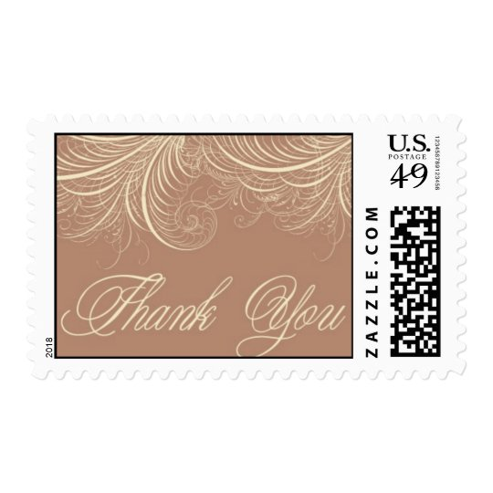Flourish - Thank you 2 by Ceci New York Postage