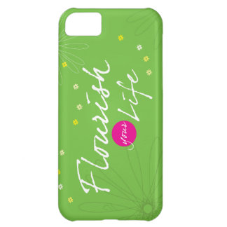 Flourish Your Life Cover For iPhone 5C