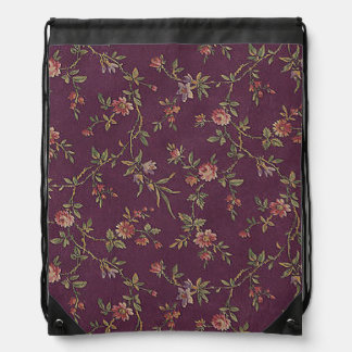 Flourishing Bravo Natural Loving Drawstring Bag