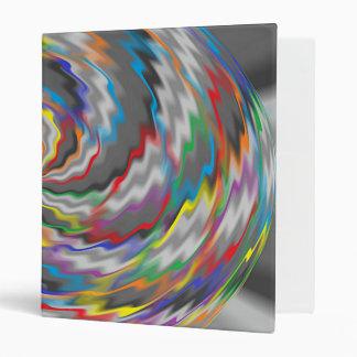 Flourishing Colors 3 Ring Binder