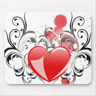 Flourishing Heart Mouse Pad