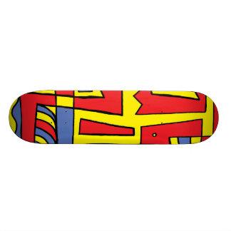 Flourishing Light Placid Super Skateboard
