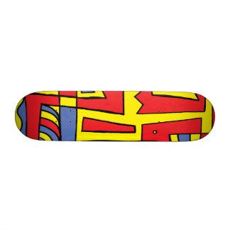 Flourishing Light Placid Super Skateboard Deck