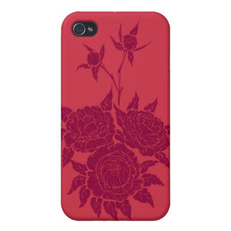 flourishing peonies iPhone 4 covers