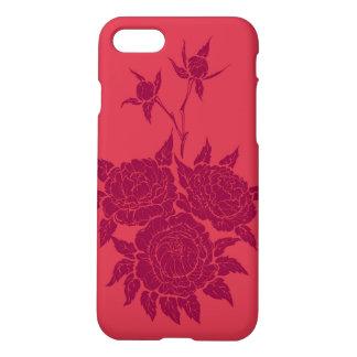 flourishing peonies iPhone 7 case