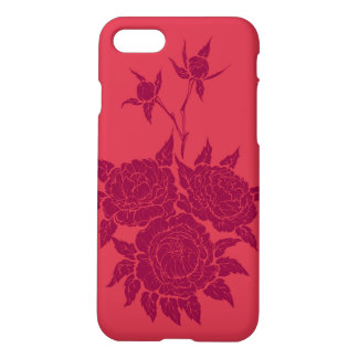flourishing peonies iPhone 8/7 case