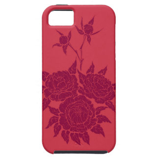 flourishing peonies iPhone SE/5/5s case