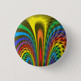Flourishing Rainbow Button