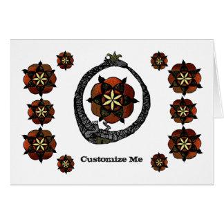 FlouroborosOfLife (Ouroboros & FlowerOfLife) Card