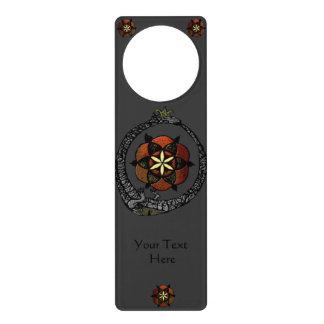 FlouroborosOfLife (Ouroboros & FlowerOfLife) Door Hangers