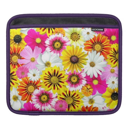 [FLOW-001] Flower power Sleeve For iPads