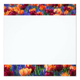 """[FLOW-003] Campo de flor Invitación 5.25"""" X 5.25"""""""