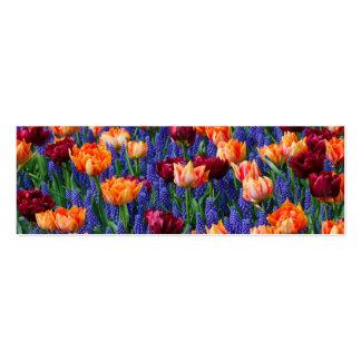 [FLOW-003] Flower field Mini Business Card