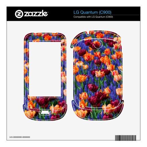 [FLOW-003] Flower field Skins For LG Quantum