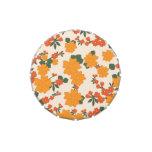 [FLOW-005] Flores anaranjadas retras Frascos De Caramelos