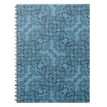 Flow Blue Kaleidoscope Note Books
