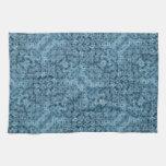 Flow Blue Kaleidoscope Towel