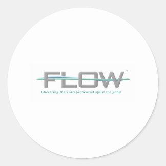 FLOW CLASSIC ROUND STICKER