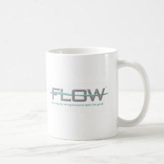 FLOW CLASSIC WHITE COFFEE MUG
