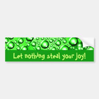 Flow In Luck!_ Bumper Sticker