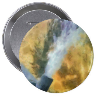 Flow of bubbles 4 inch round button