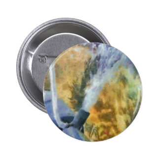 Flow of bubbles 2 inch round button