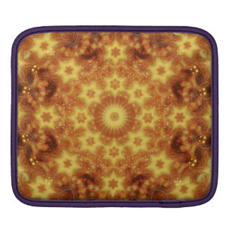 Flow of Creation Mandala iPad Sleeve