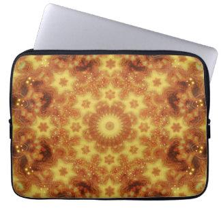 Flow of Creation Mandala Laptop Sleeve