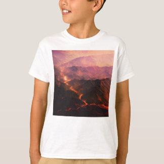 Flow of Red hot lava T-Shirt