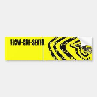 Flow-One-Seven Car Bumper Sticker