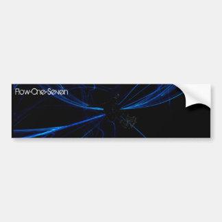Flow-One-Seven : Bumper Sticker : Warp Car Bumper Sticker