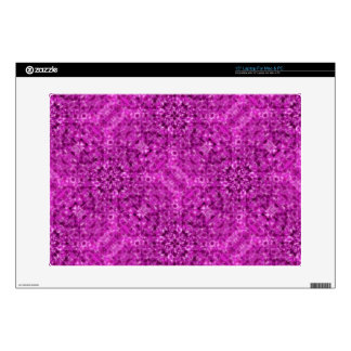 Flow Purple Kaleidoscope Design Decals For Laptops
