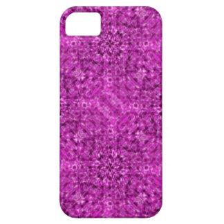 Flow Purple Kaleidoscope Design iPhone SE/5/5s Case