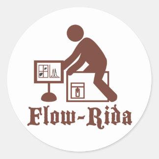 Flow Rida Classic Round Sticker