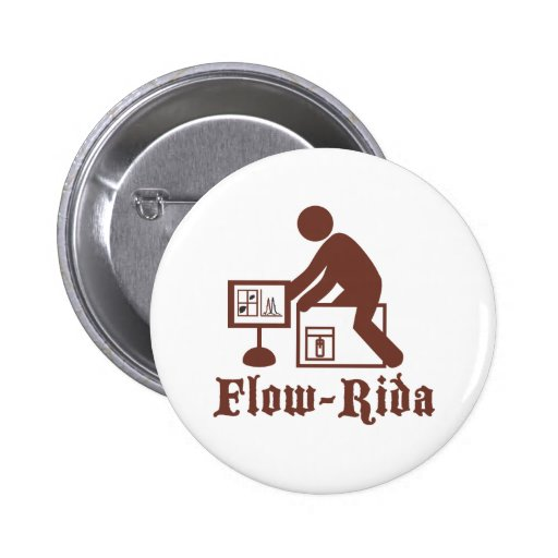 Flow Rida Pinback Button