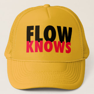 FLOW TRIBE FLOW KNOWS TRUCKER!!! TRUCKER HAT