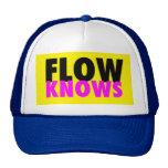 FLOW TRIBE FLOW KNOWS TRUCKER TRUCKER HATS