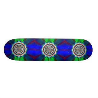 Flow with it_ Skateboard_by Elenne Skateboard Deck
