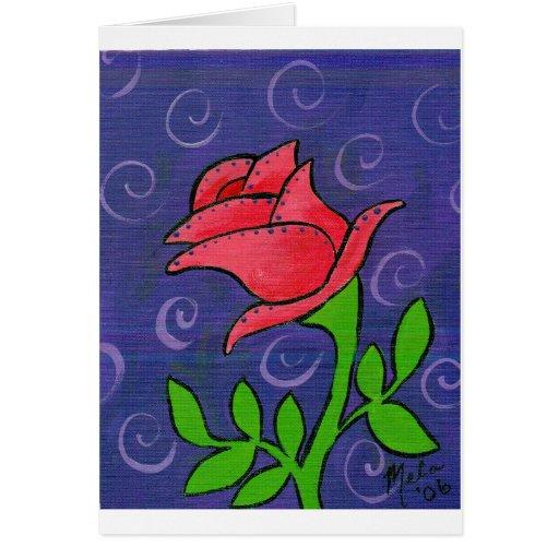 Flower17 Tarjeta De Felicitación