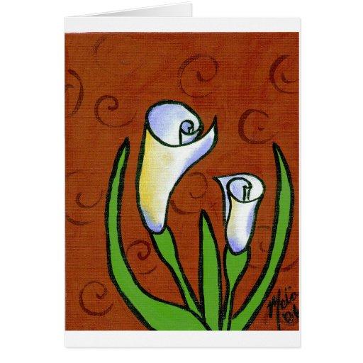 Flower18 Tarjeta De Felicitación