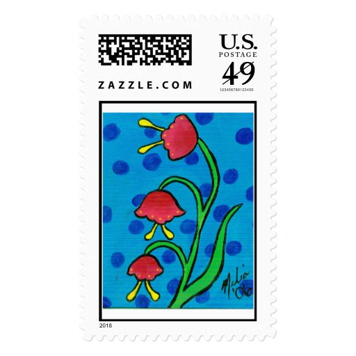 Flower19 Stamps